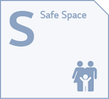 S: safe space